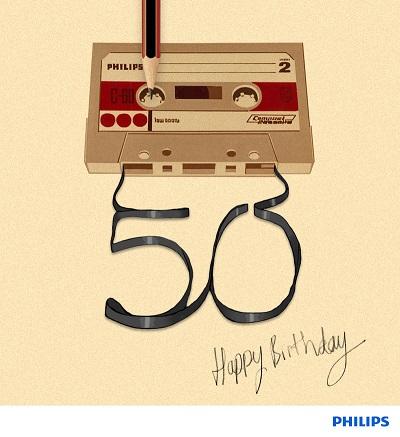 Kassetten 50 år