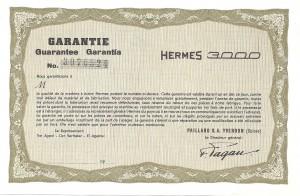 Hermes 3000 garanti liten