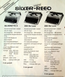 Silver Reed SR200_4