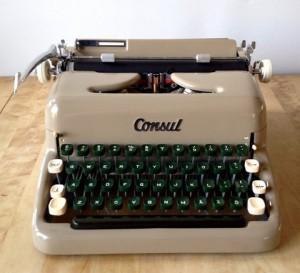 Consul skrivmaskin