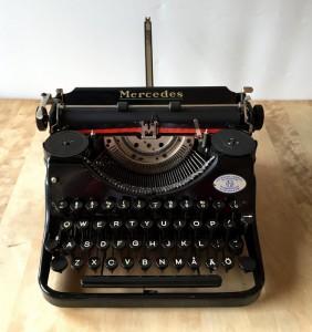 Mercedes skrivmaskin