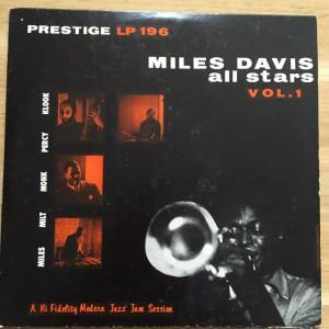 Miles Davis Prestige PRLP196