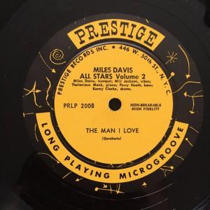 Miles Davis Prestige