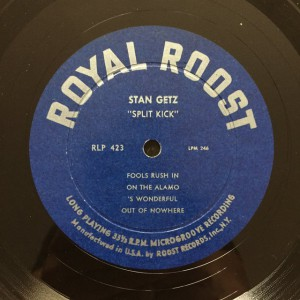 Stan Getz Royal Roost