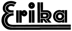 Erika skrivmaskin logo
