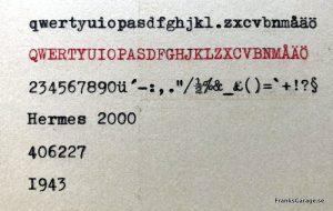 Hermes 2000 typsnitt
