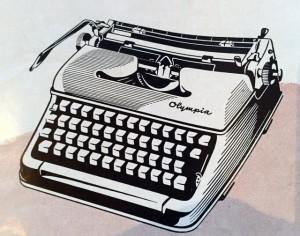 Olympia SM3 skrivmaskin