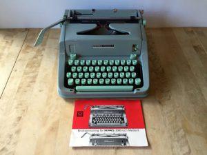 Hermes Media 3 skrivmaskin