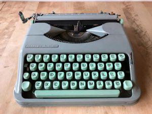 Hermes Baby skrivmaskin 1961