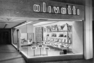 Olivetti visningsrum