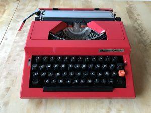 Silvertronic-20 skrivmaskin