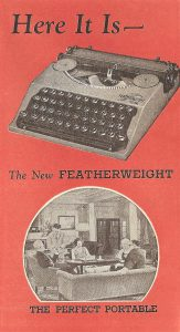 Featherweight ad