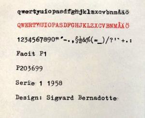 Facit P1 textprov