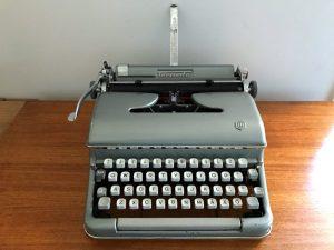 Torpedo skrivmaskin 1954