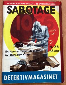 Sabotage Detektivmagasinet