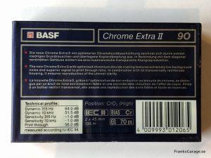 Basf Chrome Extra II 90 New back