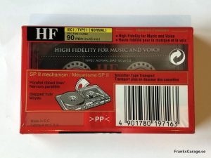 Sony HF 90 back