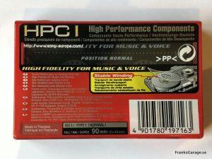 Sony HF90 back
