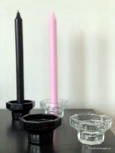 åttakantiga ljusstakar från Luminarc Arcoroc