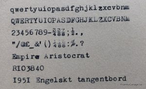 Empire aristocrat textprov